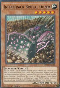 YUGIOH-CARD-3-X-INFINITRACK-BRUTAL-DOZER-CHIM-EN022-1ST-EDITION