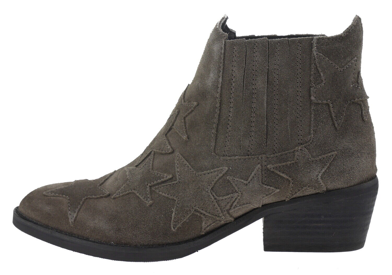 502429-41 Lazamani 53413 cuero vaquero botines gris marrón EUR 41