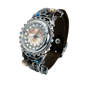 GENUINE-Alchemy-Gothic-Men-039-s-Steampunk-Watch-Telford-Chronocogulator
