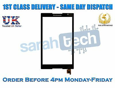 """Nuovo Lenovo Tab S8-50 S8-50f S8-50lc Lte 8"""" Tablet Touch Screen Digitizer Nero-"""