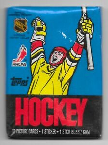 SEALED-1988-TOPPS-Ice-Hockey-Wax-PACK-NHL-Unopened-CARDS-Rookies-amp-Vets