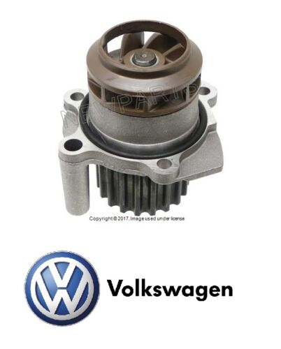 VW Jetta TDI 05-06 Water Pump Engine Motor with Composite Impeller Genuine NEW
