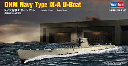 U-Boot Typ IX-A,WWII,Neu** **HobbyBoss 83506 1:350 Dt