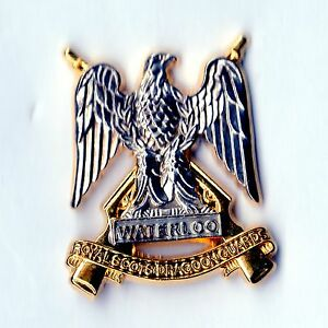 THE ROYAL SCOTS DRAGOON GUARDS ARMY MILITARY CUFFLINKS TIECLIP LAPEL BADGE GIFT