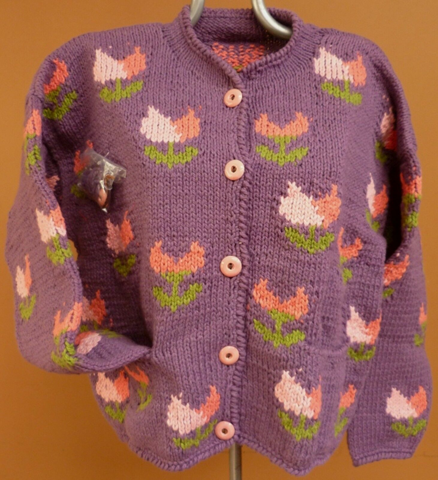 NEW, ALPACA WOOL MIXED W  SHEEP WOOL AND COTTON WOMAN´S SWEATER, CARDIGAN a