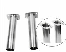 2Pcs Stainless Steel Boat Fishing Rod Holder 90 Degree Flush Mount Rod Pod Kayka