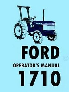 image is loading ford-1710-tractor-owner-operators-manual