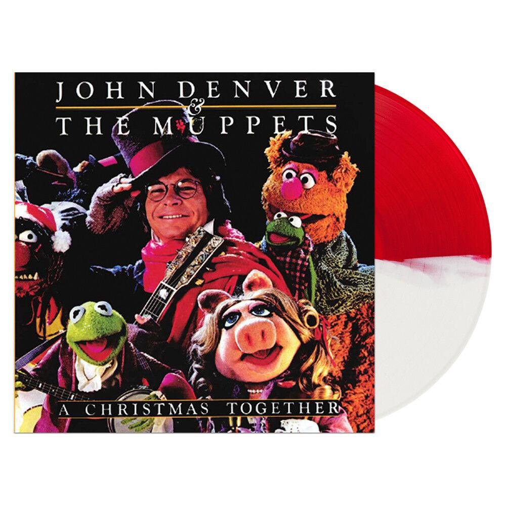 John Denver Muppets a Christmas Together LP Color Vinyl Newbury ...