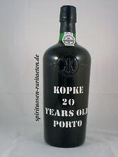 Port Kopke 20 years old anzianità PORTA VINO CASA affrancatura
