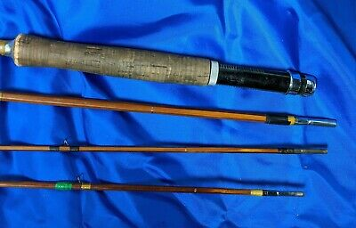 Vintage 1950's Montague Bamboo Fishing Pole | eBay