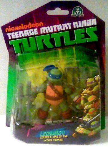 Nickelodeon Teenage Mutant Ninja Turtles Leonardo NEW Comme neuf sur Scellé carte