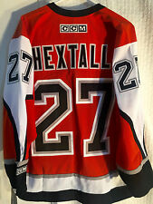 CCM Classic NHL Jersey Philadelphia Flyers Ron Hextall Orange sz M