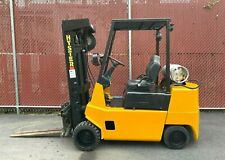 Hyster Forklift S60xl 4500lbs Lpg With Triple Mast Side Shift 497 Hours