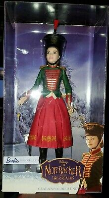 Nutcracker and the Four Realms Clara/'s Soldier Uniform Barbie Doll IN STOCK NOW!