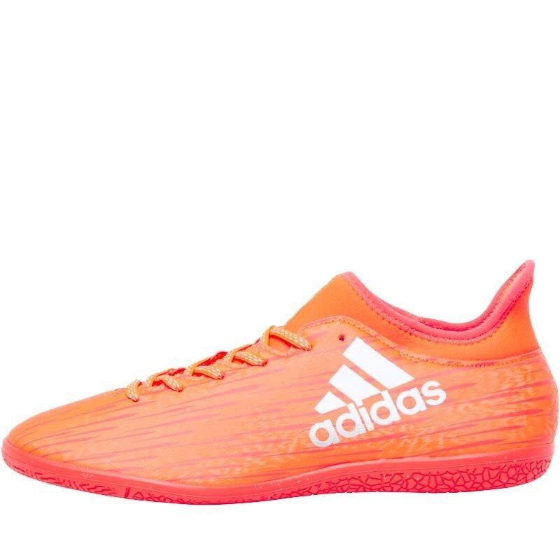 Adidas Mens X 16.3 IN Indoor Trainers, Solar Red,  2 BNIB