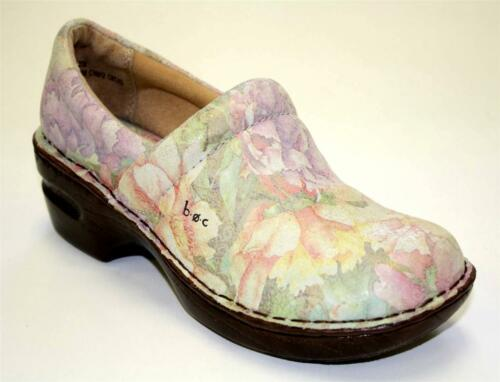 Women/'s Shoes b.o.c Born Of Concept NORDA Casual Clogs Leather Floral Pink