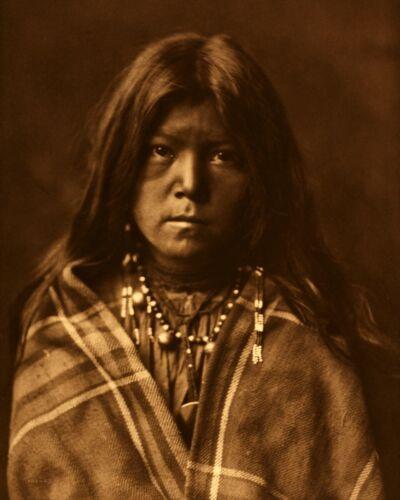 Edward Curtis Native American Photo Apache Chideh