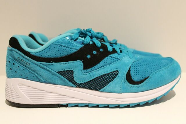 e710aa4a Saucony Grid 8000 CL Mens S70223-2 Aquamarine Athletic Running Shoes Size 12