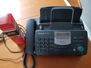 Fax Telefono Sharp NX-530 ottime condizioni + toner di scorta