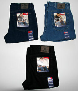69d38948 Image is loading New-Wrangler-Men-s-Stretch-Jeans-Regular-Fit-. Image not  available ...