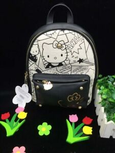 9f20bed2f New Women Girl Hello kitty Backpack bag Shoulder bag Purse Small ...
