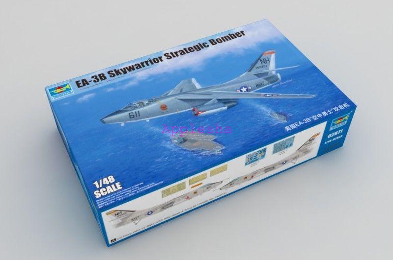 Trumpeter 02871 1 48 EA-3B Skywarrior Strategic Bomber