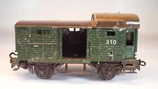 Märklin H0 310 Güterzugpackwagen Guß 2-achsig 2~Wechselstrom Nr.2 Keine OVP#5545