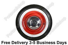 "Tire accessories ATLAS 13"" whitewall universal Wheels tyre insert trim.set of 4"