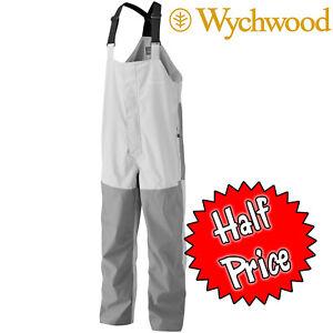 Wychwood-Bib-amp-Brace-Waterproof-Fishing-Overtrousers-Size-XL-1-2-Price-Clearance