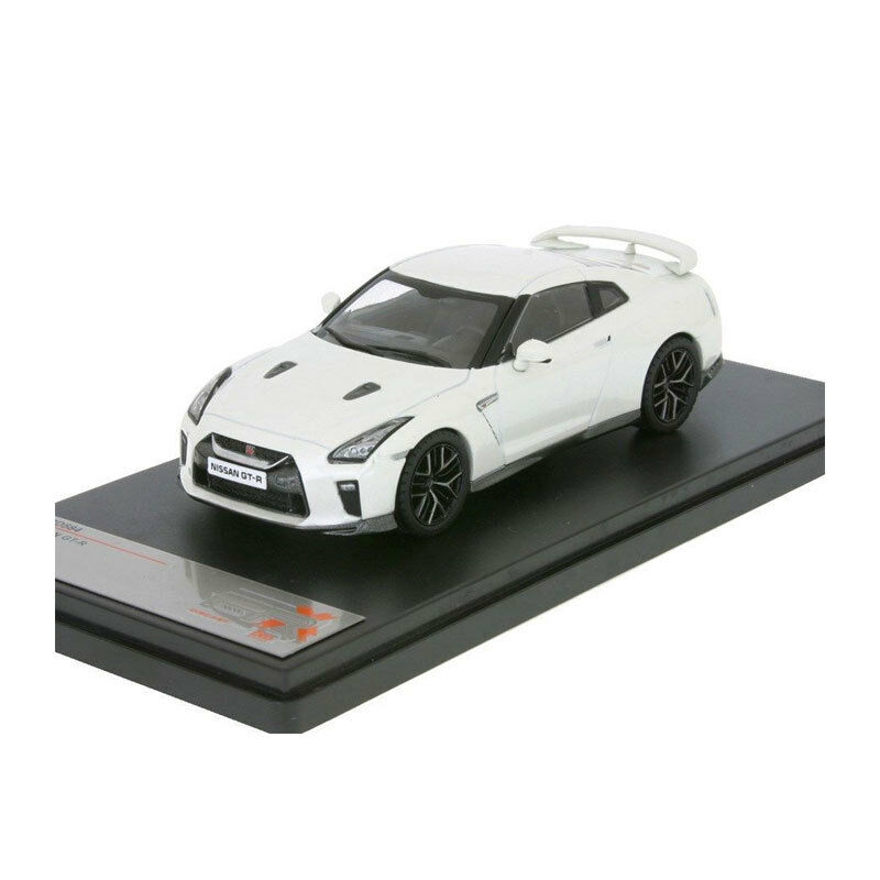 Premiumx PRXD584 Nissan Gt-R White Scale 1 43 Model Car New  °