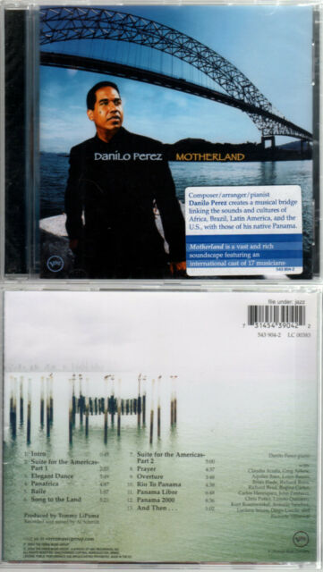 "DANILO PEREZ ""Motherland"" (CD) 2000 NEUF"