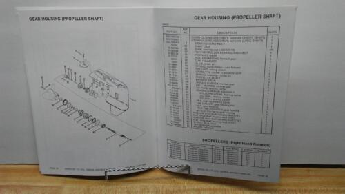 Mercury 70 Outboard Motor Parts Manual 70 HP 1983-5579017 /& up