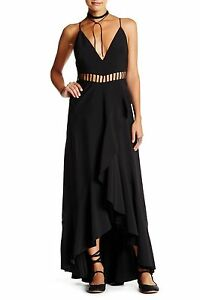 2d8f0919c6c NEW FREE PEOPLE Jet Stream Maxi Cutout Dress SIZE 2  350 NORDSTROM ...