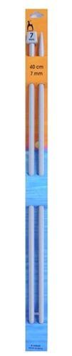 40 cm Poney Single Point Aiguilles à Tricoter 7 mm