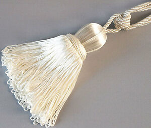 Bright-White-2-Tassels-With-Lots-Of-Fringe-for-Curtains-Extra-Large