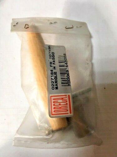 Maniglia x mobile ABS impugnatura faggio interasse 96 mm 107 frassino cassetto