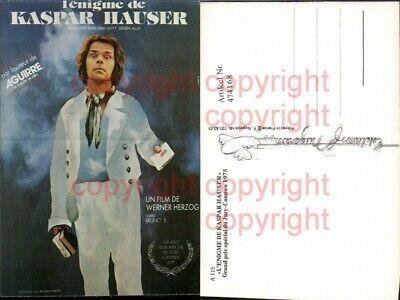 Unter Der Voraussetzung 474168,film Reklame Kaspar Hauser Werner Herzog Bruno S. 1975 Cannes