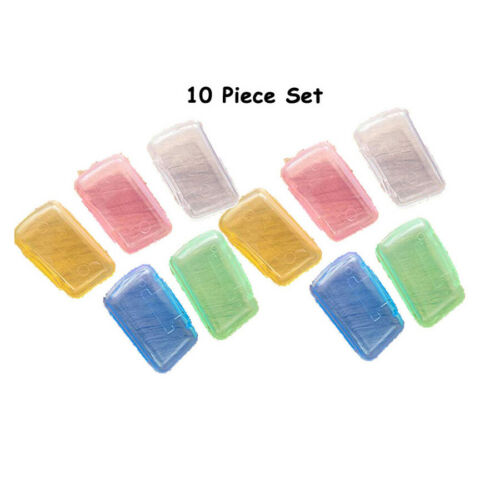 Portable Toothbrush Head Cover Travel Camping Brush Cap Case set of 10x5x2x1 set