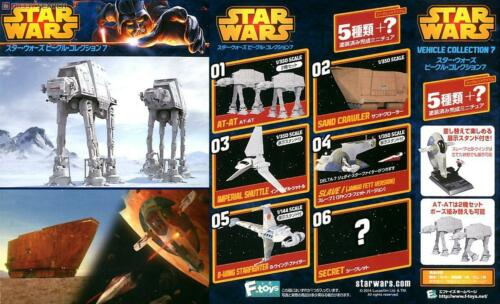 F-Toys 1//144+350 Star Wars Vehicle Collection 7 Full Set of 5 1 Secret item