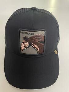 NEW Goorin Bros BLACK DEADLY Snapback Trucker Hat Animal Farm Cap Original