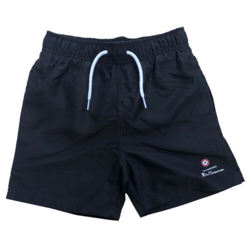 15 Years Ben Sherman Boys Black Swimming Shorts Ages 6 Years