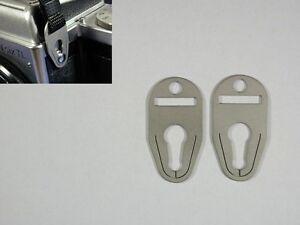 Tragegurt-Befestigungen-ohne-Gurt-f-Pentacon-Six-strap-connectors-without-strap