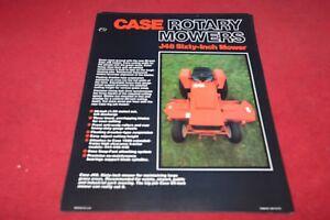 Case Tractor Lawn /& Garden Tractor L90 Lawn Sweeper Dealer/'s Brochure YABE15