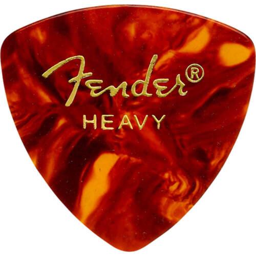 12 Pack Fender 346 Shape Classic Celluloid Picks Heavy Shell