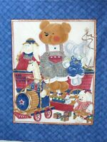 1 Red Wagon Express Baby Fabric Panel