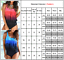 Plus-Size-Womens-Sporty-Tankini-Push-Up-Padded-Swimsuit-Swimwear-Bathing-Summer