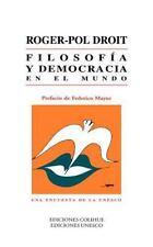 FILOSOFIA Y DEMOCRACIA EN EL MUNDO - NEW PAPERBACK BOOK