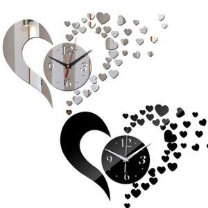 Adesivo-parete-specchio-orologio-cuore-cuori-idea-regalo-San-Valentino-romantico