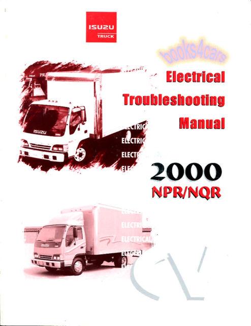 isuzu npr nqr gmc w shop manual service repair book electrical