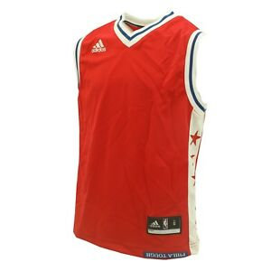 new concept 52d4e a3bed Details about New Philadelphia 76ers Youth Size Adidas Official NBA Blank  Jersey New With Tags